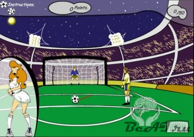 Sexy Soccer Game (флеш игра)