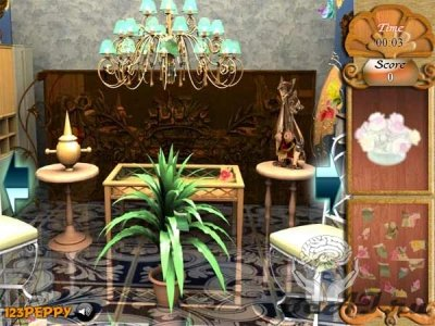 Find the Objects in Royal House (флеш игра)