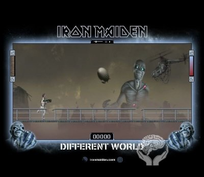 Iron Maiden - Different World (флеш игра)