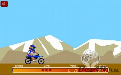 X-treme Moto Idiot Cross (флеш игра)