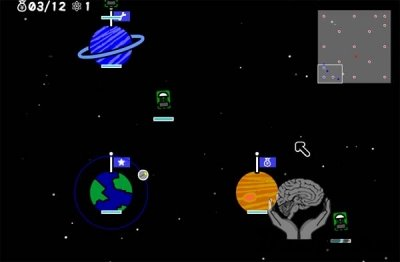 Galactic Invaders (флеш игра)
